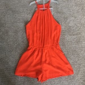 adorable one clothing brand romper!!